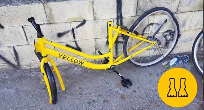 As 'Bicicletas Yellow' destruídas e furtadas dizem muito a ...